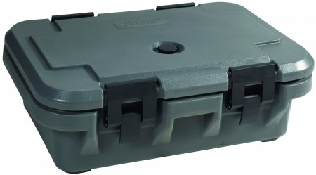 """Winco IFPC-4 Compact Insulated Food Pan Carrier 4"""" Deep"""