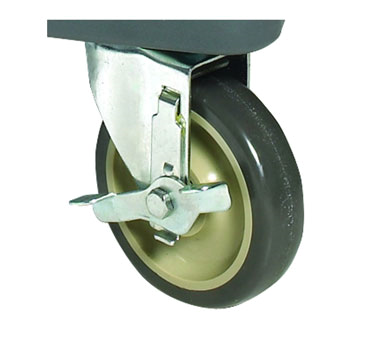 """Winco IFT-C5B 5"""" Caster With Brake For IFT-2"""