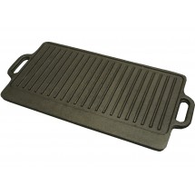 "Winco IGD-2095 Cast Iron Griddle 20"" x 9-1/2"""
