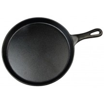 Winco IGL-10 Round Cast Iron Grill Pan 10""