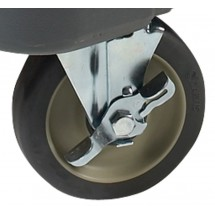"Winco IIC-C5B Caster 5"" with Brake for IIC-29"