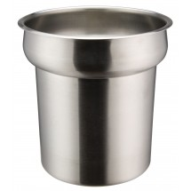 Winco INSN-4 Prime Stainless Steel Inset 4 Qt.