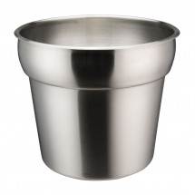 Winco INSN-7 Prime Stainless Steel Inset 7 Qt.