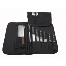 Winco-KBG-10-Black-Cutlery-Knife-Bag