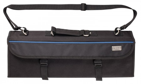 Winco KBG-11 Black Acero 11-Slot Knife Bag