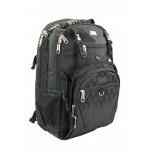 Winco KBP-1 Black Chef's Backpack