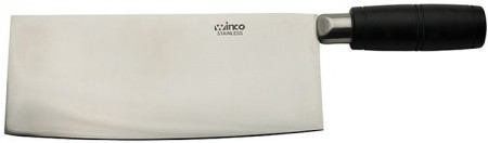 Winco KC-601 Chinese Cleaver with POM Handle 8""