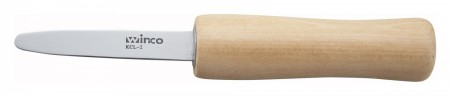 """Winco KCL-2 Oyster/Clam Knife 2-7/8"""""""