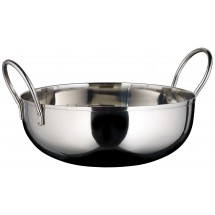 Winco KDB-7 Stainless Steel Serving Kady Bowl with Welded Handles, 40 oz.
