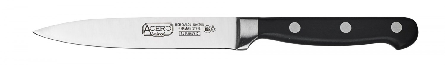 Winco KFP-50 One Piece Utility Knife 5""