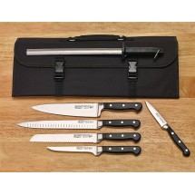 Winco KFP-KITA Acero 7-Piece Knife Bag Set