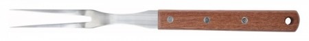 """Winco KPF-612 Pot Fork with Wood Handle 6-1/2"""""""