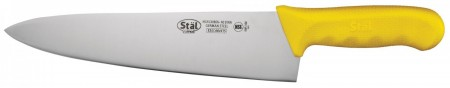 """Winco KWP-100Y Chef's Knife with Yellow Handle 10"""""""