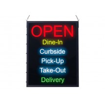 """Winco LED-20 All-in-One """"OPEN"""" LED Sign"""