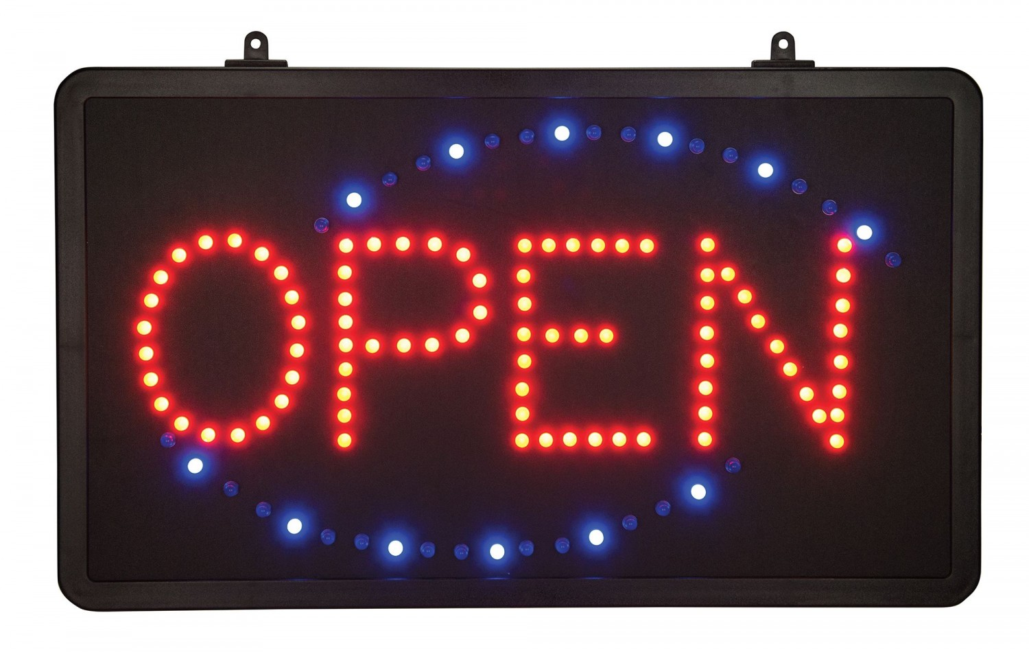 "Winco LED-6 LED ""Open"" Sign with Single Flashing Pattern"