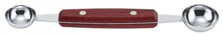 """Winco MB-1 Melon Baller with Wooden Handle 7"""""""