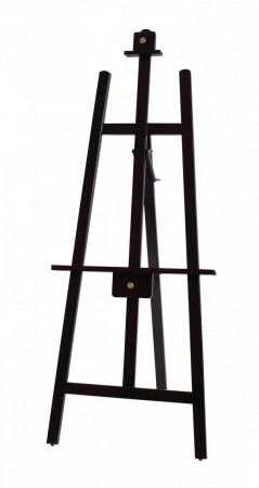 """Winco MBBE-3 Display Easel with Wooden Frame, Mahogany Finish 24"""" x 62"""""""