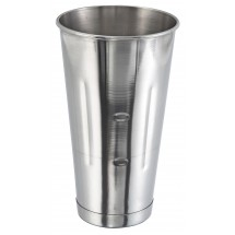 Winco MCP-30 Stainless Steel Malt Cup 30 oz. - 1 doz