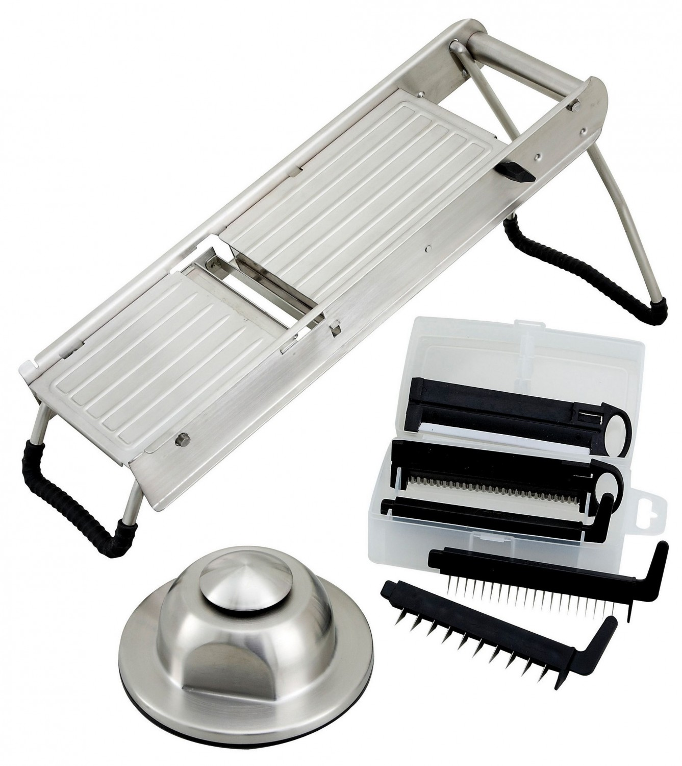 Winco MDL-15 Mandoline Slicer Set