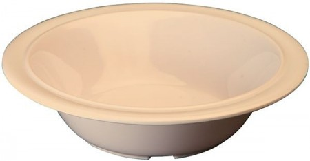 Winco MMB-12 Tan Melamine Soup/Cereal Bowl 12 oz.