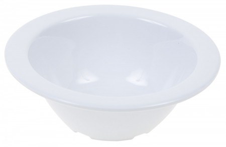 Winco MMB-4W White Melamine Fruit Bowl 4 oz. - 1 doz