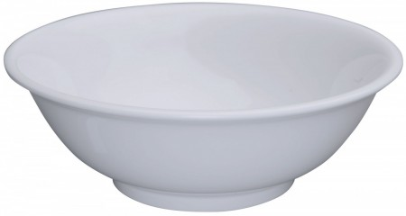 Winco MMB-52W White Melamine Rimless Bowl 52 oz.