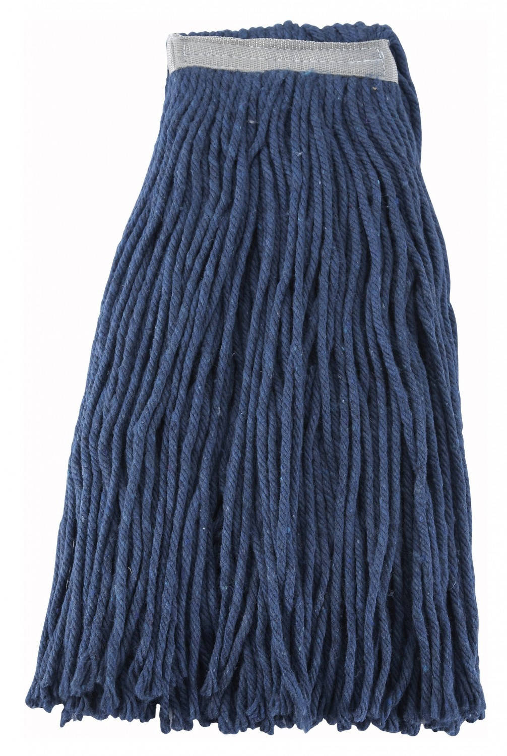 Winco MOP-24C Blue Yarn Mop Head with Cut Ends