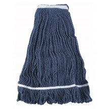 Winco-MOP-32-Blue-Yarn-Mop-Head-with-Looped-End-32-oz---