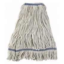 Winco-MOP-32W-White-Yarn-Mop-Head-with-Looped-End-32-oz--