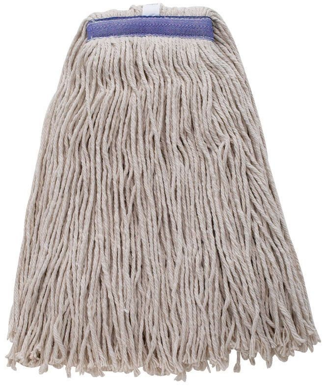 Winco MOP-24WC White Wet Mop Head With Cut End 24 oz.