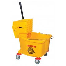 Winco MPB-36 Mop Bucket with Wringer 36 Qt.