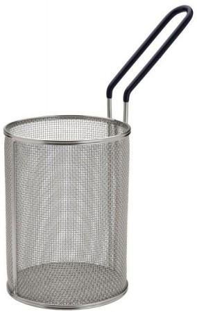 """Winco MPN-57 Stainless Steel Small Pasta Basket 5-1/4"""" x 7"""""""