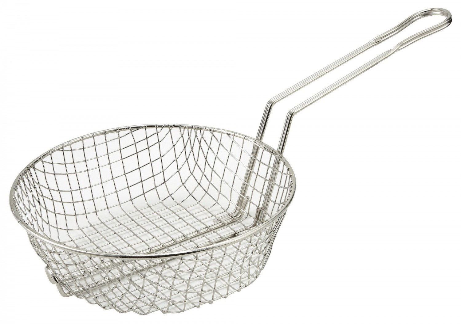 Winco MSB-10 Coarse Mesh Culinary Basket 10""