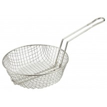 Winco MSB-12 Coarse Mesh Culinary Basket 12""