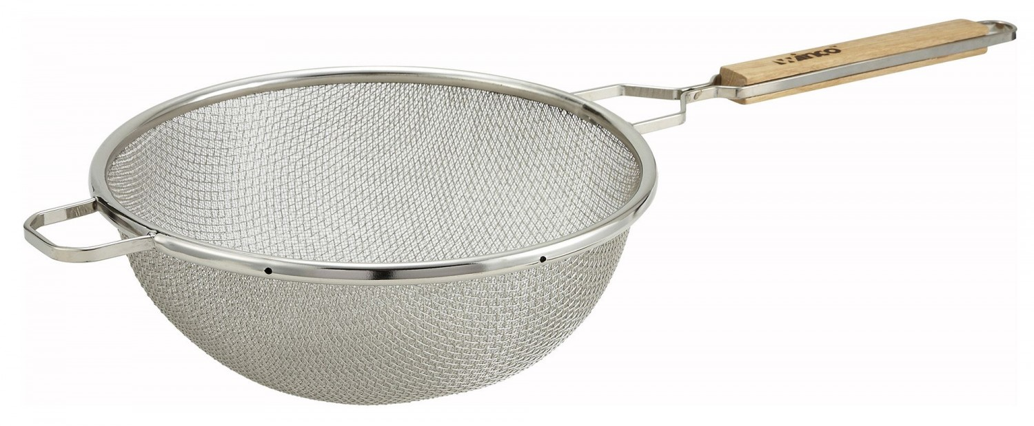 Winco MST-10D Double Mesh Strainer 10-1/2""