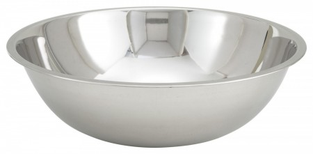 Winco MXB-1600Q Stainless Steel Economy Mixing Bowl 16 Qt.
