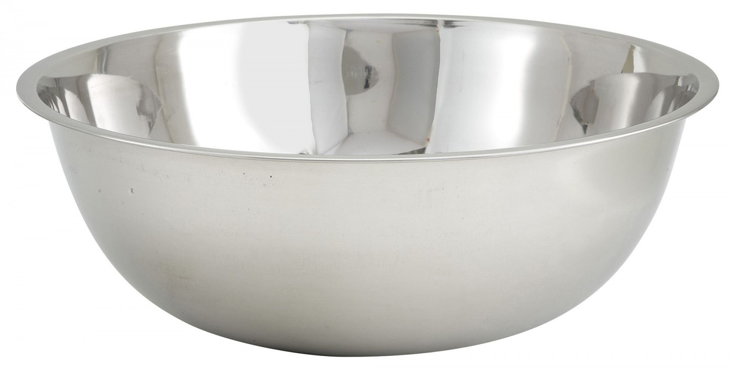Winco MXB-2000Q Stainless Steel Economy Mixing Bowl 20 Qt.