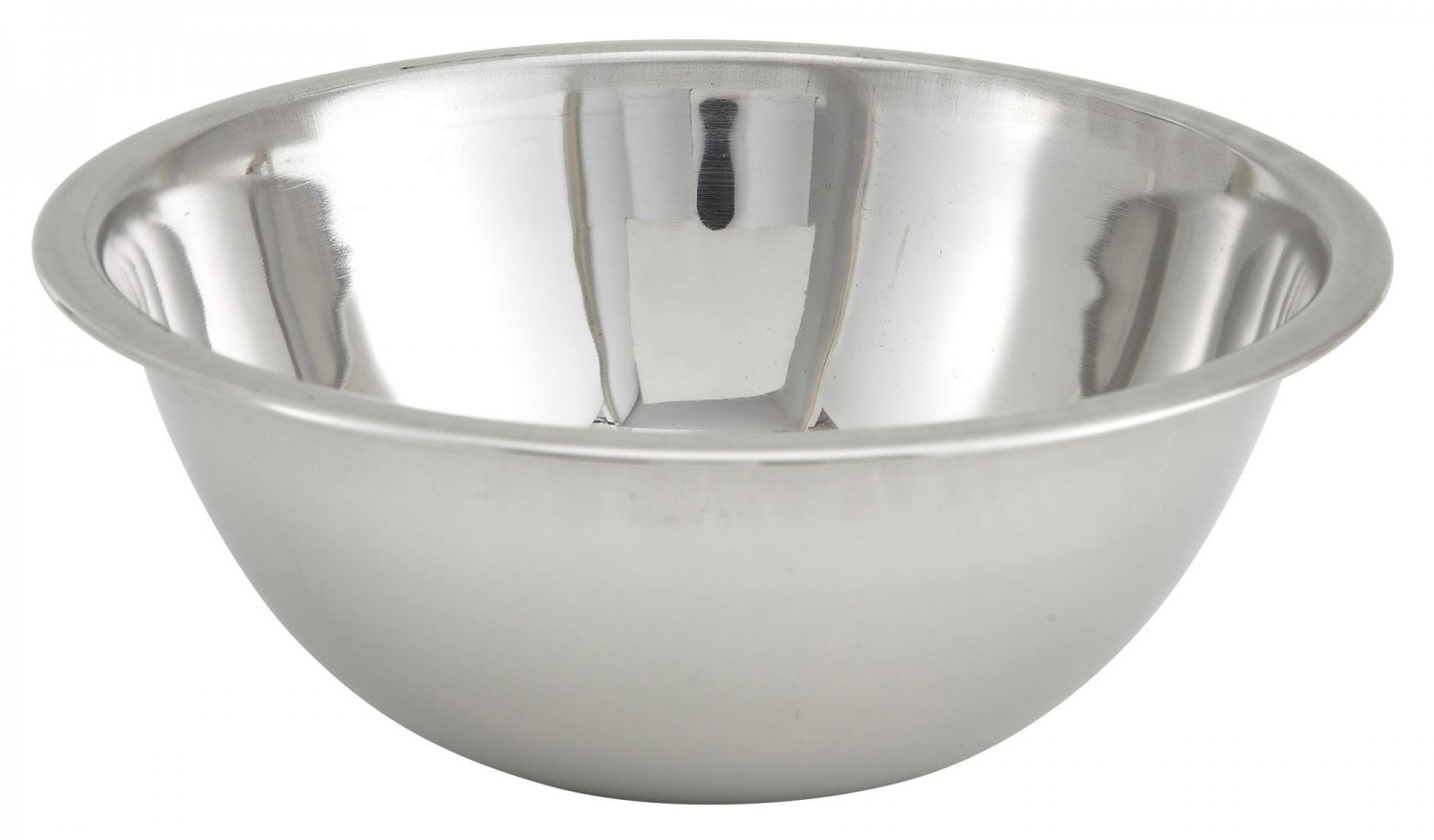 Winco MXB-400Q Stainless Steel Economy Mixing Bowl 4 Qt.