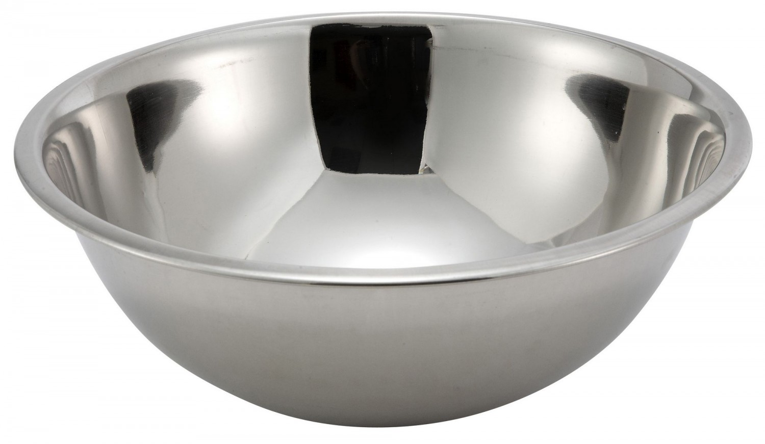 Winco MXB-500Q Stainless Steel Mixing Bowl 5 Qt.