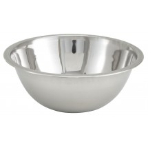Winco MXB-75Q Stainless Steel Economy Mixing Bowl 3/4 Qt.