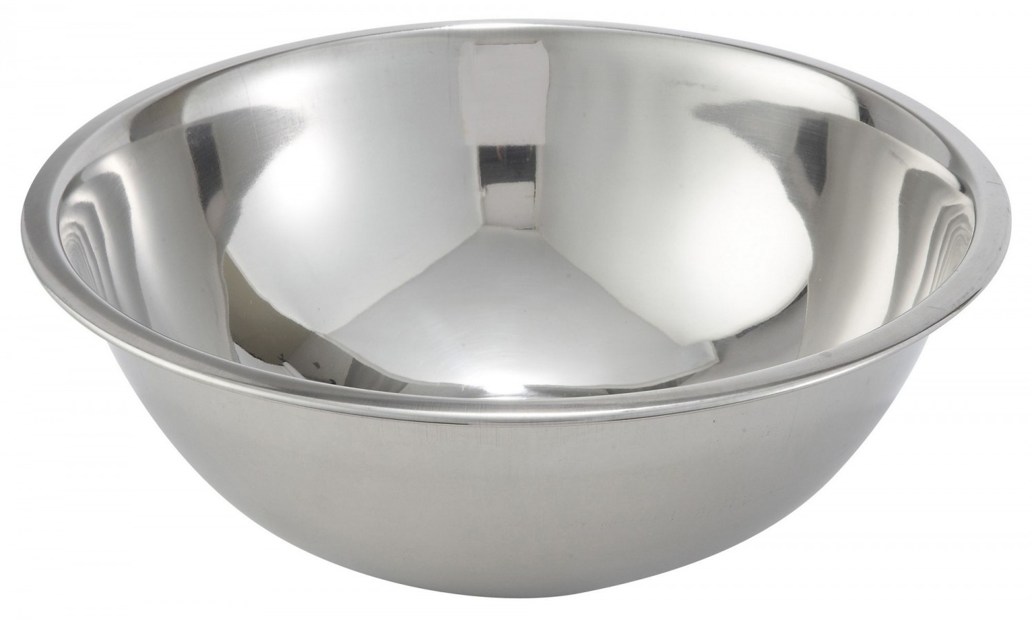 Winco MXB-800Q Stainless Steel Economy Mixing Bowl 8 Qt.