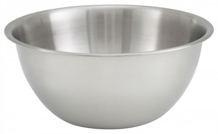 Winco MXBH-500 Stainless Steel Mixing Bowl 5 Qt.