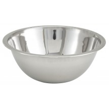 Winco MXBT-300Q All-Purpose True Capacity Stainless Steel Mixing Bowl 3 Qt.