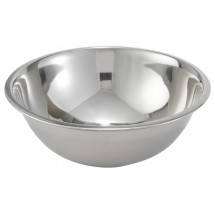 Winco MXBT-500Q All-Purpose True Capacity Stainless Steel Mixing Bowl 5 Qt.