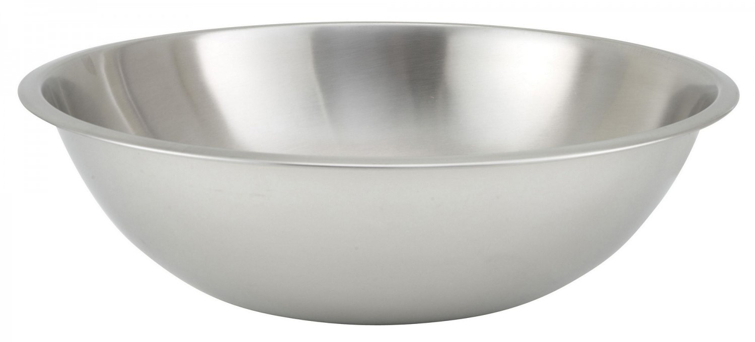 Winco MXHV-1300 Heavy-Duty Stainless Steel Mixing Bowl 13 Qt
