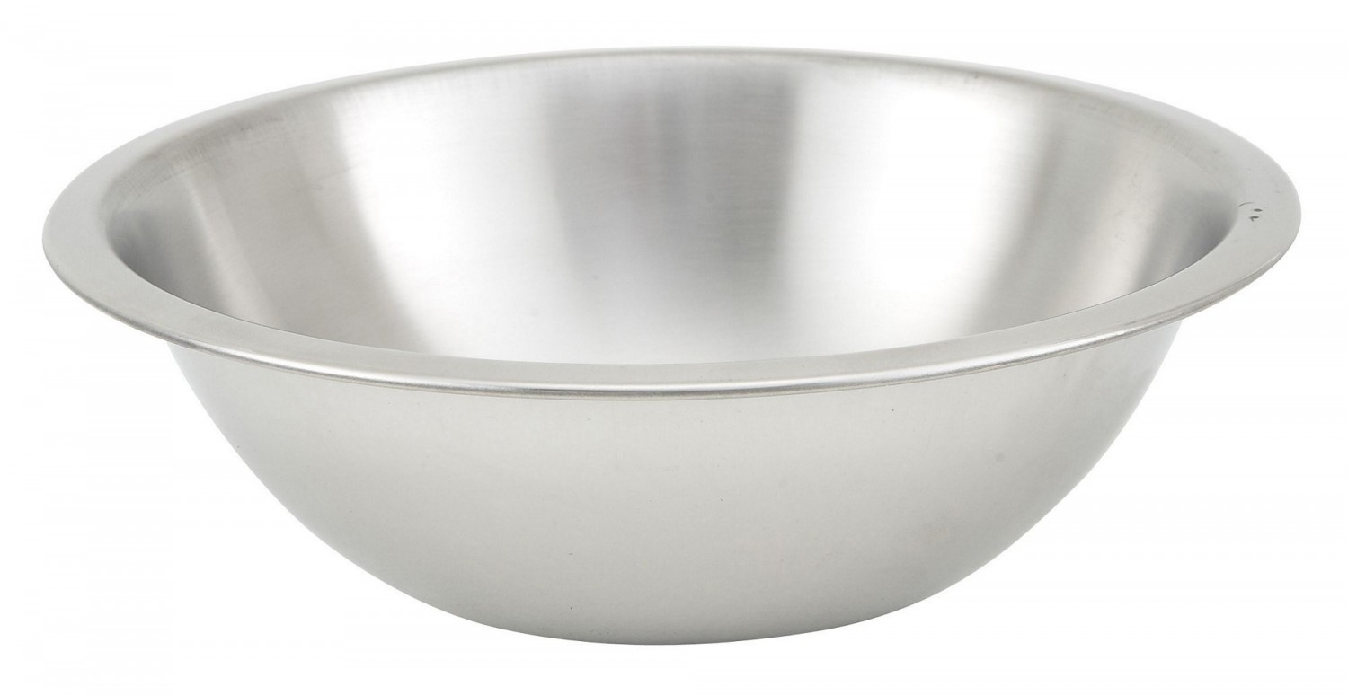Winco MXHV-150 Heavy-Duty Stainless Steel Mixing Bowl 1-1/2 Qt.