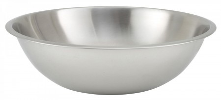 Winco MXHV-1600 Heavy Duty Stainless Steel Mixing Bowl 16 Qt.