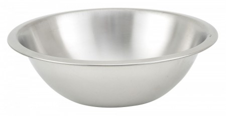 Winco MXHV-300 Heavy Duty Stainless Steel Mixing Bowl 3 Qt.