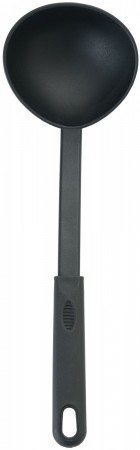Winco NC-LD Black Nylon Heat Resistant Serving Ladle 6 oz.