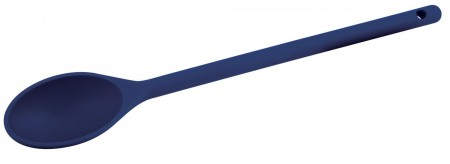 Winco NS-12B Blue Nylon Heat Resistant Spoon, 12""